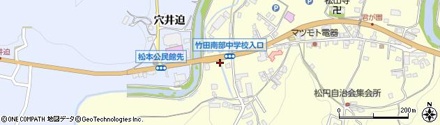 大分県竹田市君ケ園635周辺の地図
