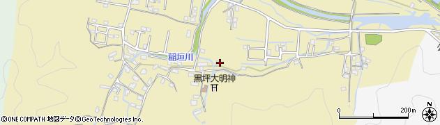 大分県佐伯市稲垣1974周辺の地図