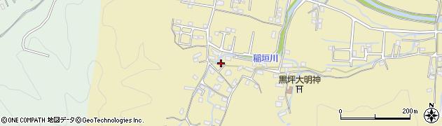 大分県佐伯市稲垣1276周辺の地図