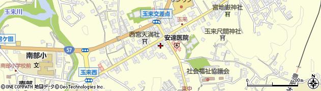 大分県竹田市玉来988周辺の地図