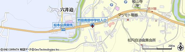 大分県竹田市君ケ園628周辺の地図