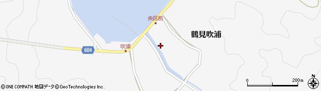 大分県佐伯市鶴見大字吹浦1977周辺の地図