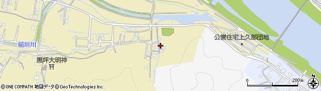 大分県佐伯市稲垣2080周辺の地図