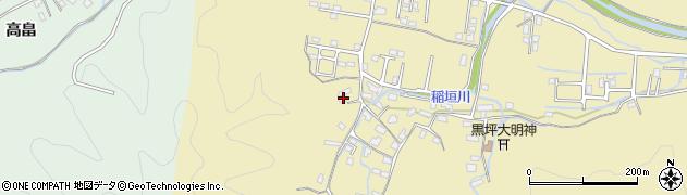 大分県佐伯市稲垣1137周辺の地図