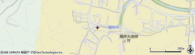 大分県佐伯市稲垣1364周辺の地図