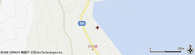 大分県佐伯市鶴見大字地松浦206周辺の地図