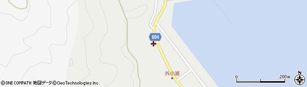 大分県佐伯市鶴見大字地松浦27周辺の地図