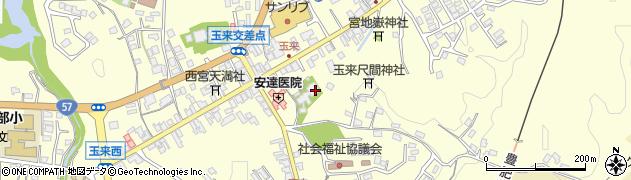 大分県竹田市玉来974周辺の地図