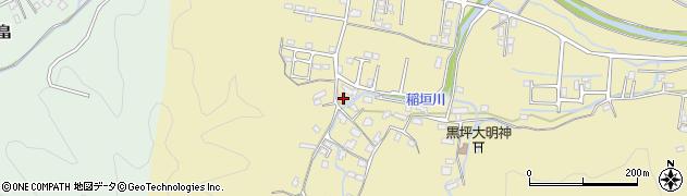 大分県佐伯市稲垣1131周辺の地図