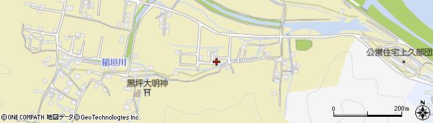 大分県佐伯市稲垣1851周辺の地図