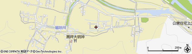 大分県佐伯市稲垣1858周辺の地図