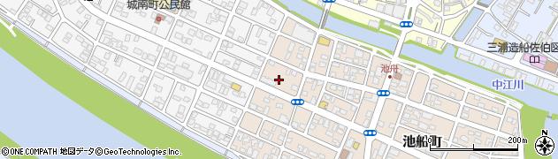 大分県佐伯市池船町36周辺の地図