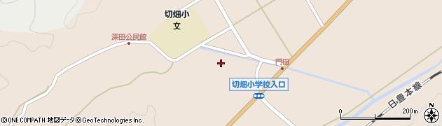 大分県佐伯市弥生大字門田1760周辺の地図