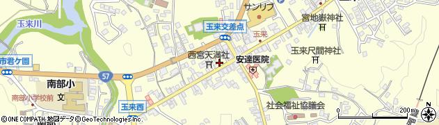 大分県竹田市玉来891周辺の地図