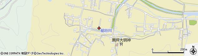 大分県佐伯市稲垣1400周辺の地図