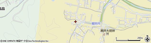 大分県佐伯市稲垣1132周辺の地図