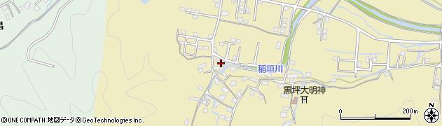 大分県佐伯市稲垣1130-1周辺の地図