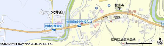大分県竹田市君ケ園608周辺の地図