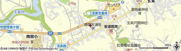 大分県竹田市玉来749周辺の地図