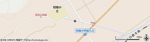 大分県佐伯市弥生大字門田908周辺の地図