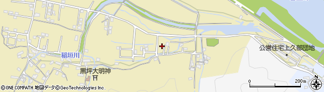 大分県佐伯市稲垣1842周辺の地図
