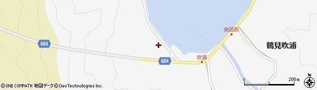 大分県佐伯市鶴見大字吹浦62周辺の地図