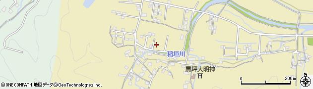 大分県佐伯市稲垣1367周辺の地図