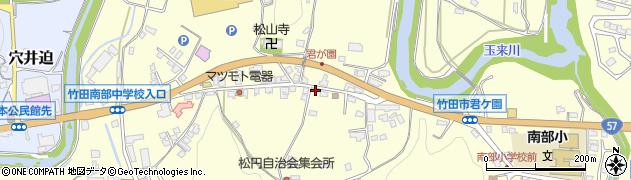 大分県竹田市君ケ園914周辺の地図