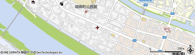 大分県佐伯市城南町周辺の地図