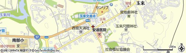 大分県竹田市玉来904周辺の地図