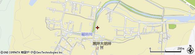 大分県佐伯市稲垣1963周辺の地図