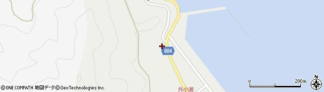 大分県佐伯市鶴見大字地松浦26周辺の地図
