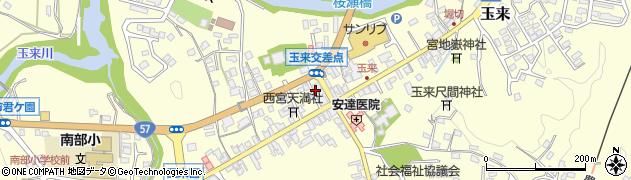 大分県竹田市玉来901周辺の地図