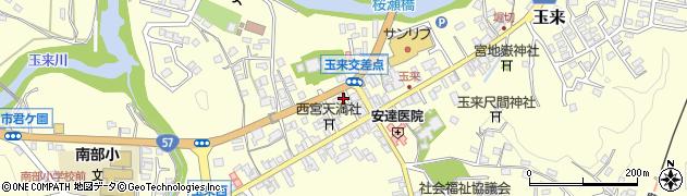 大分県竹田市玉来900周辺の地図