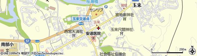 大分県竹田市玉来967周辺の地図