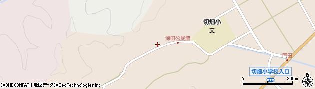 大分県佐伯市弥生大字門田2010周辺の地図