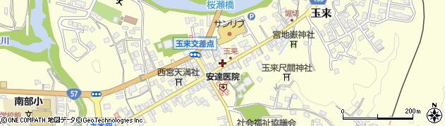 大分県竹田市玉来910周辺の地図