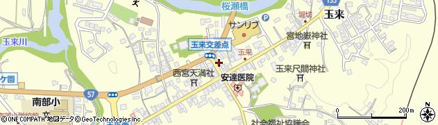 大分県竹田市玉来905周辺の地図