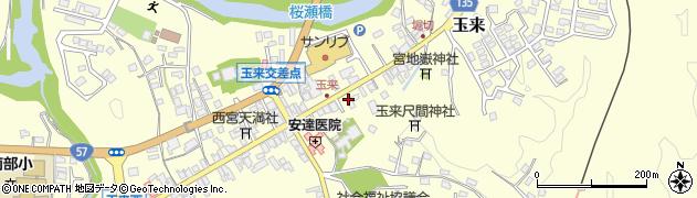 大分県竹田市玉来965周辺の地図