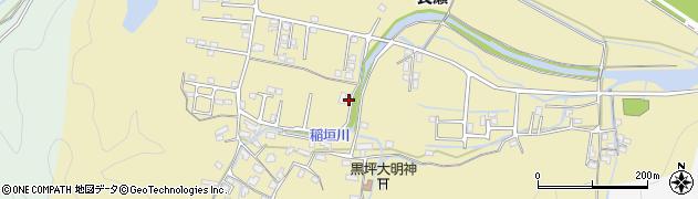 大分県佐伯市稲垣1414周辺の地図