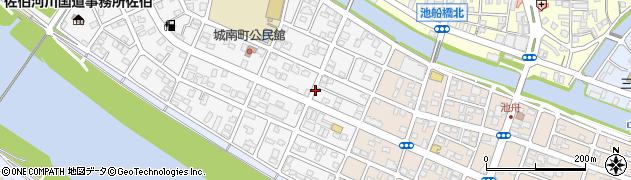 大分県佐伯市城南町5周辺の地図