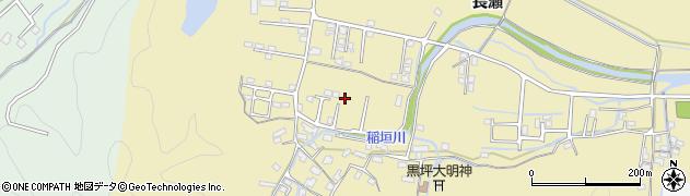 大分県佐伯市稲垣1394周辺の地図
