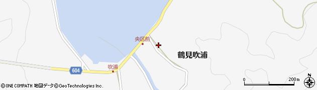 大分県佐伯市鶴見大字吹浦1983周辺の地図