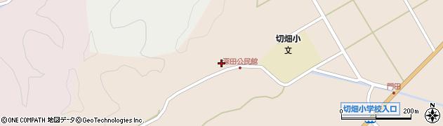 大分県佐伯市弥生大字門田2032周辺の地図