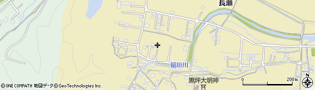 大分県佐伯市稲垣1381周辺の地図