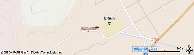 大分県佐伯市弥生大字門田2041周辺の地図