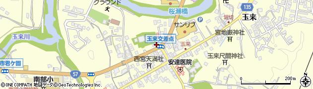 大分県竹田市玉来741周辺の地図