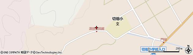 大分県佐伯市弥生大字門田2035周辺の地図