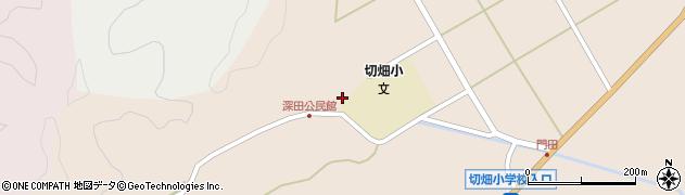大分県佐伯市弥生大字門田2044周辺の地図