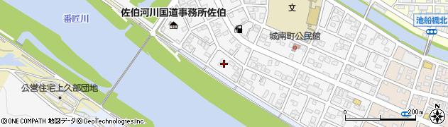 大分県佐伯市城南町21周辺の地図